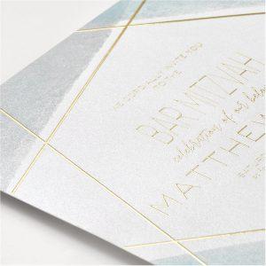 Aquarelle Honor Bar Mitzvah Invitation