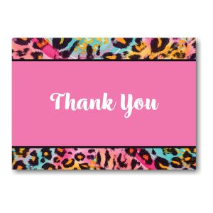 Wild Thing Thank You Note