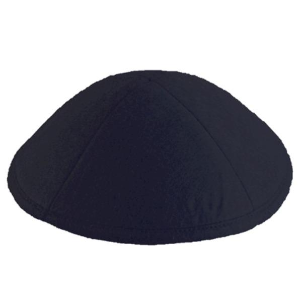 Black Felt Yarmulke