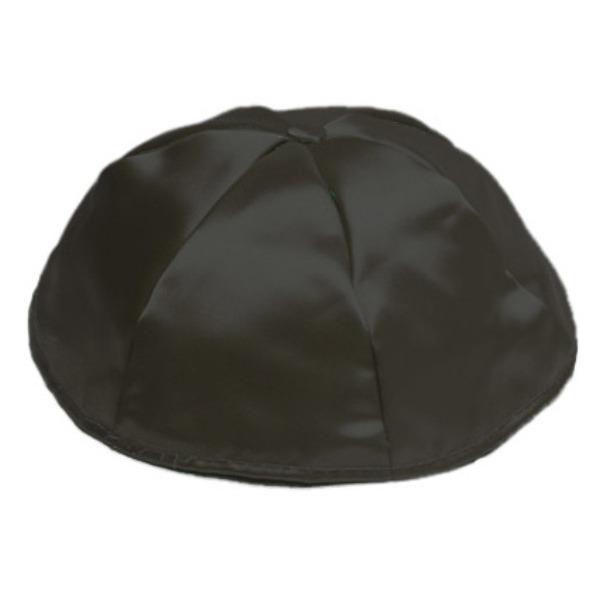 Black Satin Yarmulke