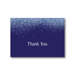 Falling Stardust Thank You Note