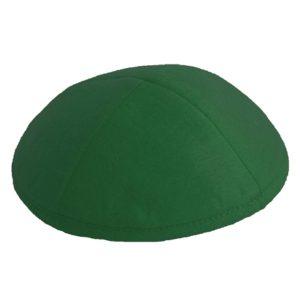 Green Felt Yarmulke