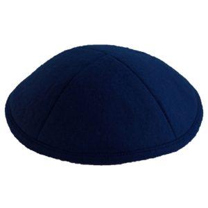 Navy Felt Yarmulke
