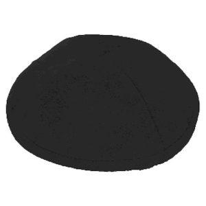 Black Ultra Suede Yarmulke