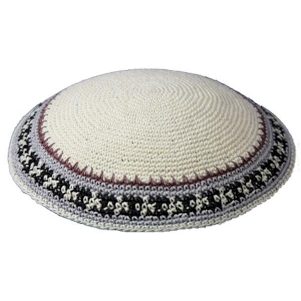 Ivory Knit Yarmulke