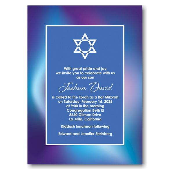 Mystical Mitzvah Bar Mitzvah Invitation Icon