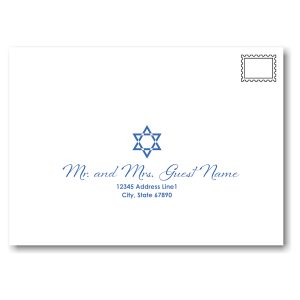 Mystical Mitzvah Envelope Guest Addressing